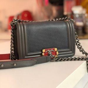 Chanel Cube Small Boy Bag